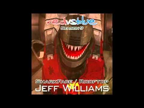 Shark Man Rooftop Red Vs Blue Season 9 Jeff Williams   YouTube