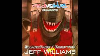 Shark Man Rooftop Red Vs Blue Season 9 Jeff Williams   YouTube