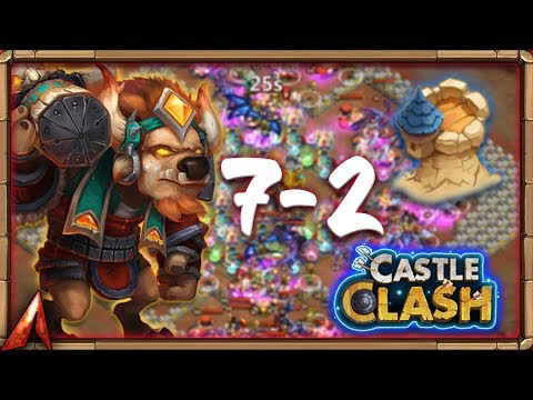 INSANE DUNGEON 7-2! FlameSeeker! Castle Clash