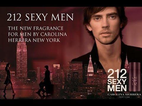 Top 10 Fragrance Facts: 212 Sexy Men Carolina Herrera for men - YouTube