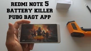 Xiaomi Redmi Note 5 Battery killer test gaming PUBG! BAGT Extreme 60 FPS! Heating Snapdragon 636