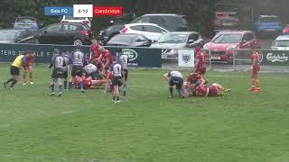 Sale FC vs  Cambridge Match Highlights