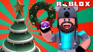 CHRISTMAS EVENT - SHINY MINIOR + MEGA SCEPTILE C!! | Pokémon Brick Bronze [#107] | ROBLOX