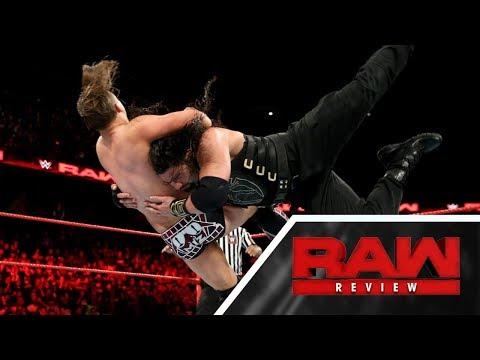 RAW REVIEW - Retour sur le show (02/10/17)
