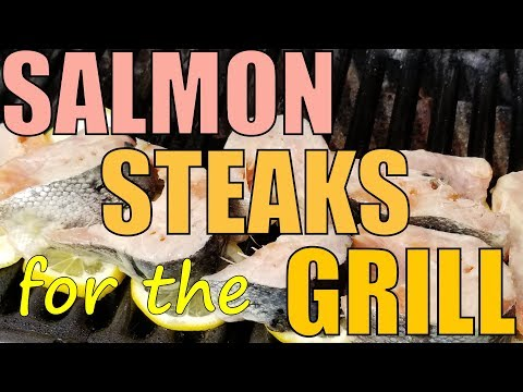 Cleaning Landlocked Salmon :: Steaking for the Grill!