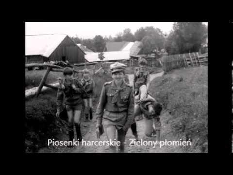 Zielony płomień - Piosenki harcerskie - Chwyty - Tekst