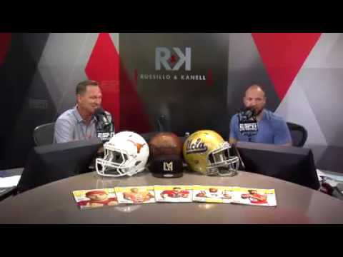 ESPN Segment on Cliff Jumping | Russillo and Kanell Discuss Massive Gainer