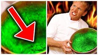 10 Times Gordon Ramsay Got VERY SICK (Kitchen Nightmares)