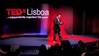"""TEDxLIsboa - João Cunha - """"Mentes abertas em lugares fechados e..."""""""