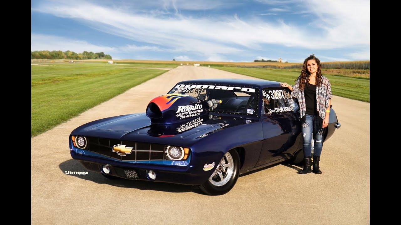 16 Yr Old Taylor Hanus Jlv Racing 69 Camaro 2014 Review