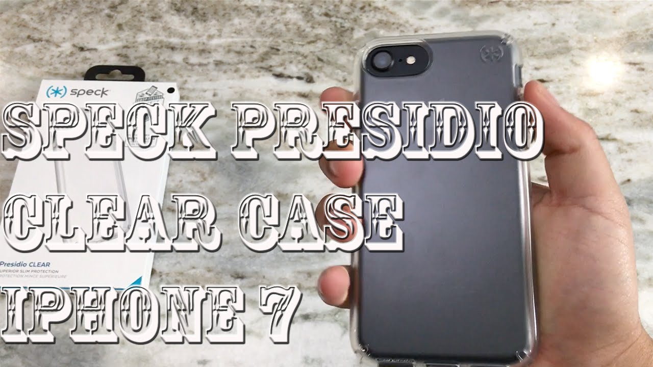 outlet store 85ddd f284c iPhone 7 Speck Clear Presidio Case