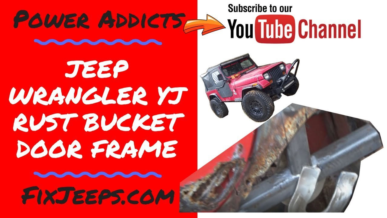 Download Jeep Wrangler YJ - Project Rust Bucket - Frame in the driver door