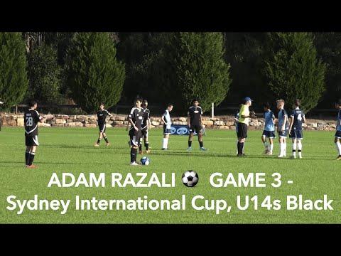 ADAM RAZALI - GAME 3 of Sydney International Cup, U14s Black