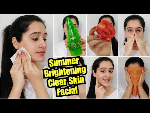 SUMMER FACIAL to Get BRIGHT, CLEAR SKIN, SPOTLESS SKIN, INSTANTLY