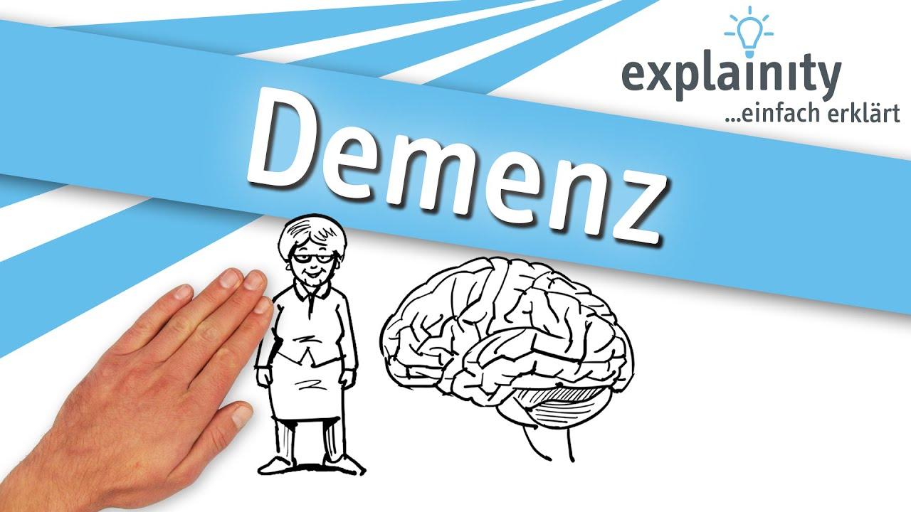Demenz einfach erklärt (explainity® Erklärvideo) - YouTube