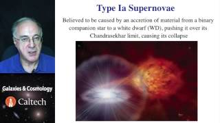 Lecture-8 Galaxies and Cosmology - Supernova Standard Candles