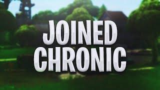 So I Joined Chronic...