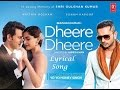 Dheere Dheere Se-Yo Yo Honey Singh Full Lyrical Song | Hrithik Roshan | Sonam Kapoor