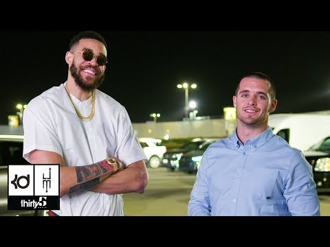 JaVale McGee's Parking Lot Chronicles Episode 9: Derek Carr & Special Appearance From Omri Casspi