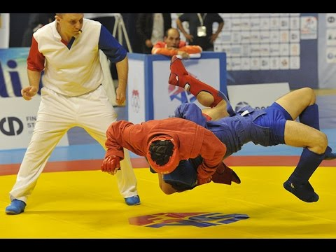 Highlights of the World Sambo Championship 2015 in Morocco Day 1