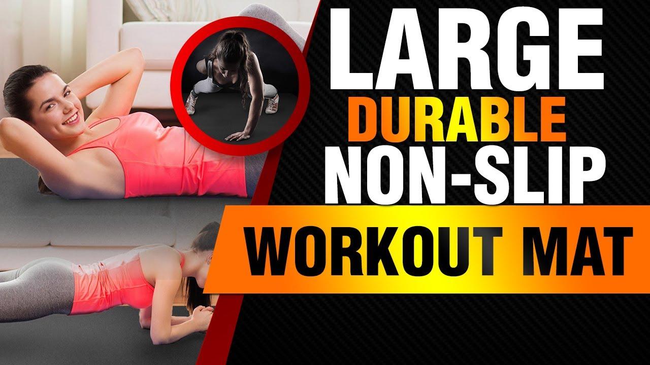 Premium Large Exercise Mat Ultra Durable Non Slip Workout Mats