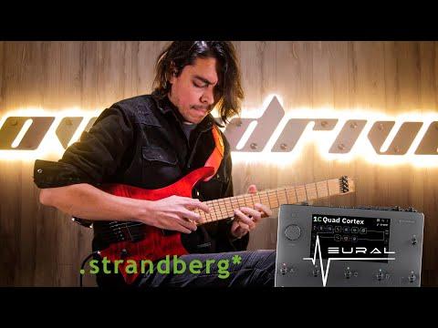 "Koke Benavides - ""Biomecánico"". Neural DSP Quad Cortex + .strandberg* Guitars"