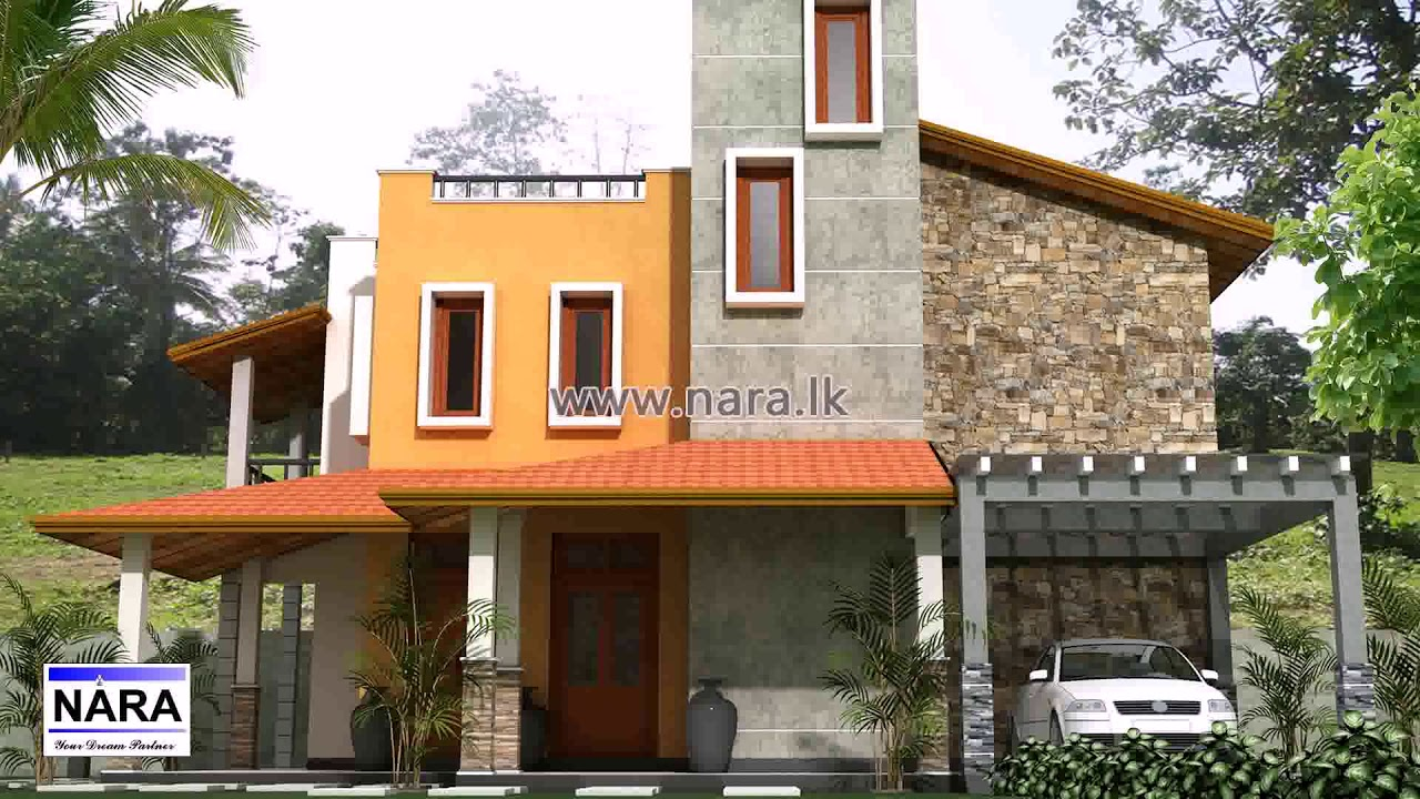 Two Story House Plans With Balconies In Sri Lanka - Gif ...