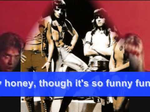 THE SWEET - FUNNY FUNNY: 1971 (with words) - YouTube