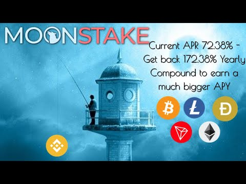 MoonStake Stake Crypto Earn BNB! New DeFi Earning Site, Single Crypto Staking. Trusted Team