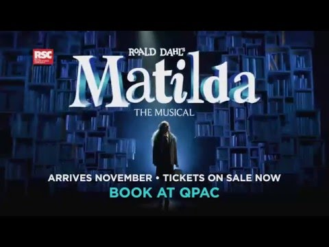 Matilda The Musical tickets on sale now at QPAC