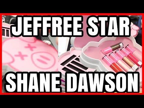 Jeffree Star, Shane Dawson Palette Details Revealed