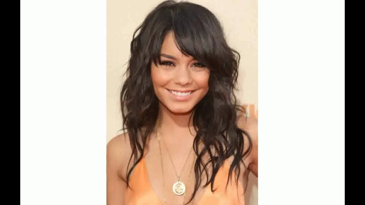 Hairstyles with Side Bangs for Black Women - YouTube