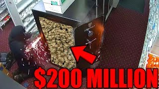 Top 10 CRAZIEST Robberies Caught on Camera (Amazing Robberies You Wont Believe Exist)