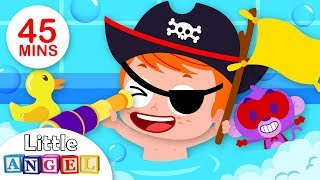 Bath Time Songs with Jack | Kid Songs and Nursery Rhymes by Little Angel
