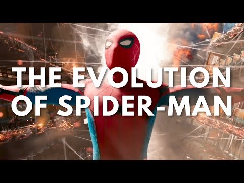 Spider-Man Movie & TV Evolution (1967-2017) with Homecoming Trailer