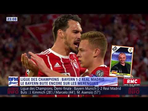 After Foot du mercredi 25/04 – Partie 2/4 - Débrief de Bayern/Real Madrid (1-2)
