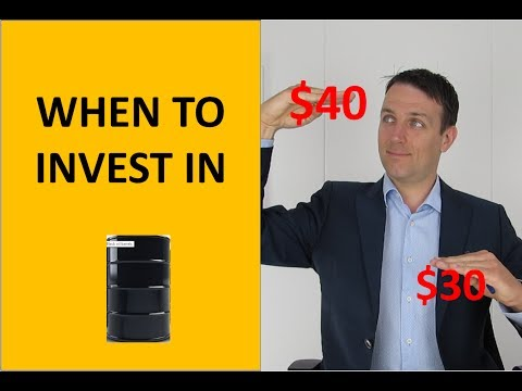 Investing in oil stocks - how and when!