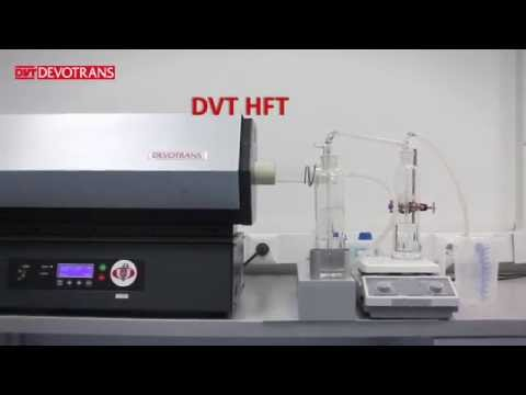HALOGEN ACID GAS DETERMINATION TEST EQUIPMENT DVT HFT