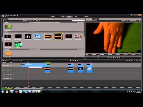 Create the Gold Rush Hand Wipe by Paul Holtz with Pinnacle Studio or Other Editing Software