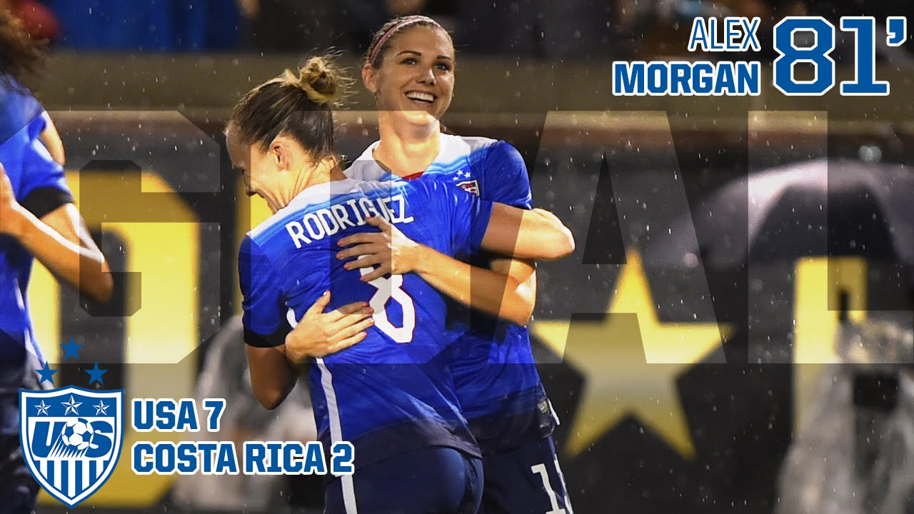 WNT vs. Costa Rica  Alex Morgan Goal - Aug. 19 bd7ff6589