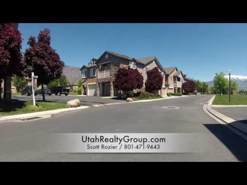Pemberley Townhomes Drive Thru Tour in Pleasant Grove Utah