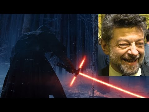 Andy Serkis confirms he IS the voice in Star Wars: The Force Awakens Trailer