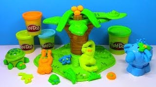 Play Doh Jungle Pets Animal Activities Play-doh Turtle, Elephant, Monkey Playdough