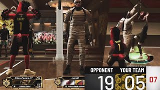 MUST WATCH! Coming back 19-5 ON A TryHARD MASCOT ON NBA 2K20!