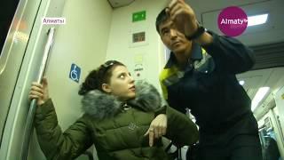 Доступность общественного транспорта проверили инвалиды в Алматы (20.02.18)