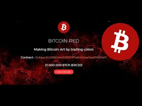"""BITCOIN RED"" Token has just been launched"