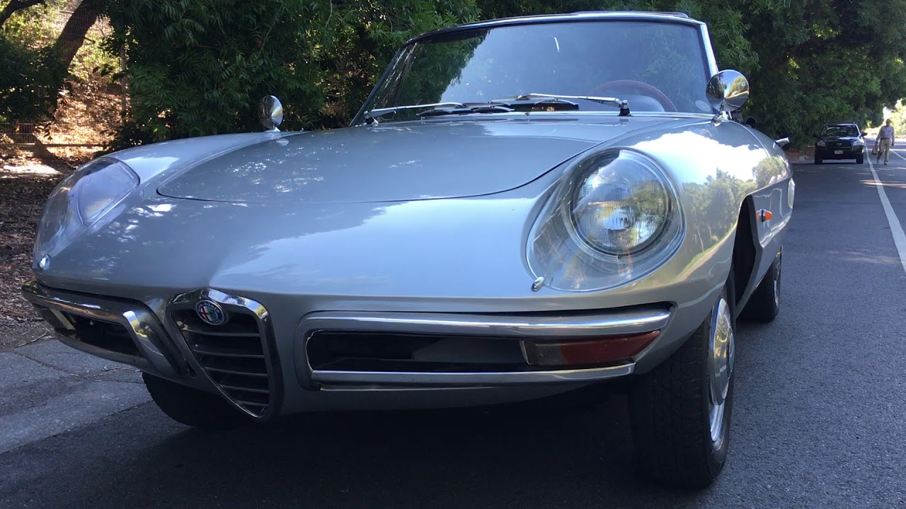 Alfa Romeo Duetto For Sale Walk Around YouTube - 1967 alfa romeo spider for sale