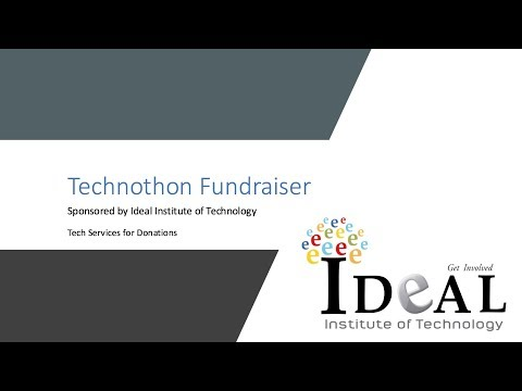 Fundraiser By Ideal Institute of Technology