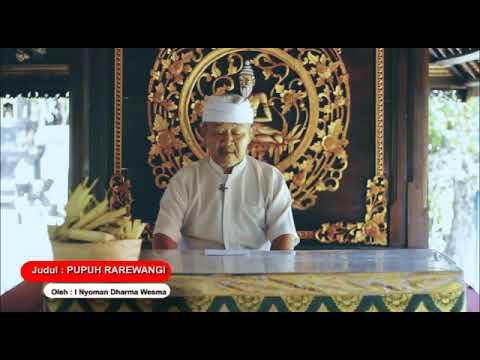 Pupuh Rara Wangi - Kumpulan Kidung Dewa Yadnya Pura Puseh Desa Adat Denpasar