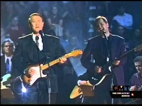 "Glen Campbell & Steve Wariner Perform ""Galveston"""